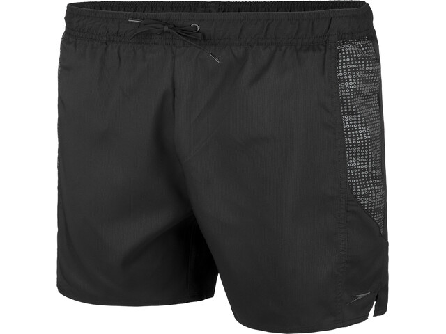 "speedo sport Printed 16"" Watershorts Men hex black/oxid grey"